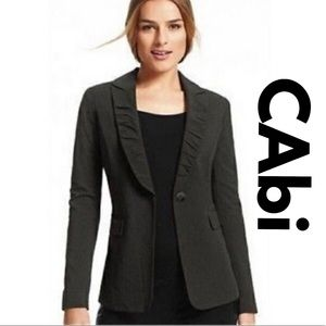 CAbi 601 Pinstripe Blazer